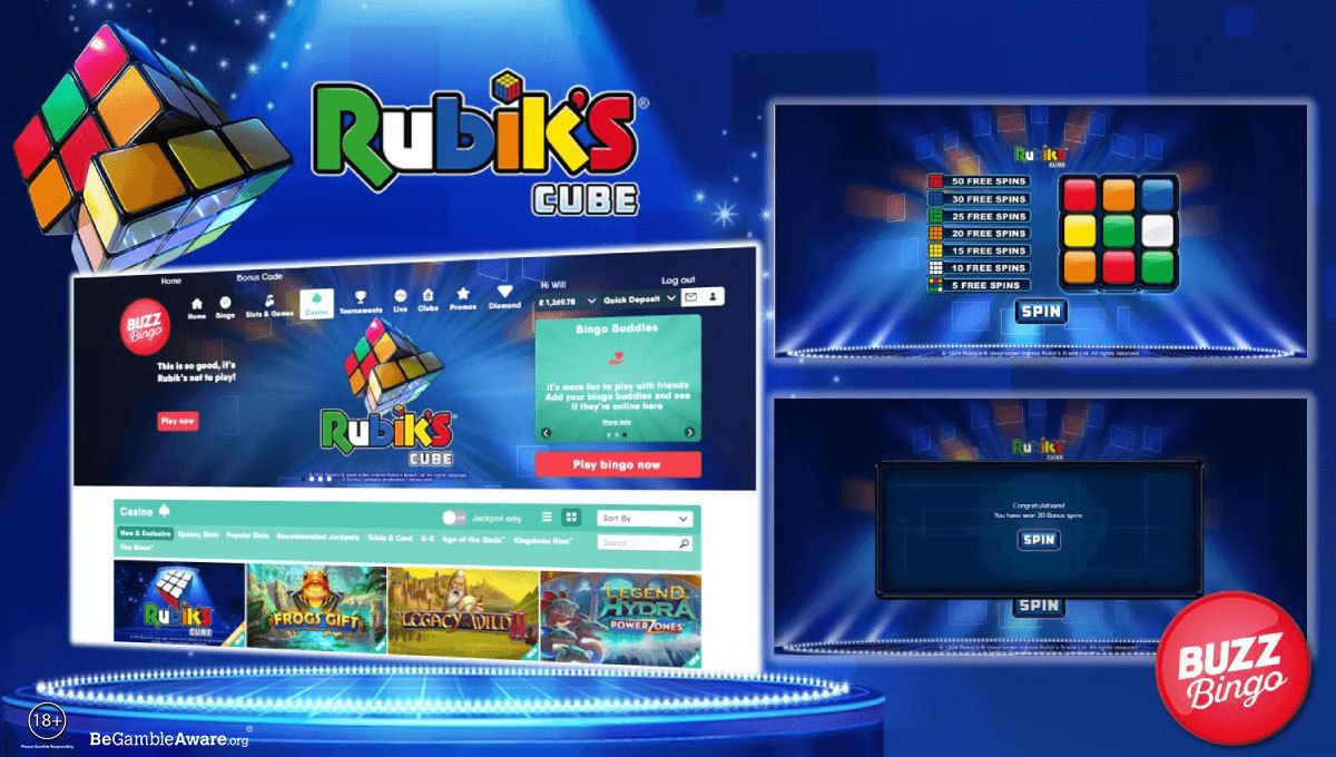 playtech-launches-new-rubik's-cube-slot