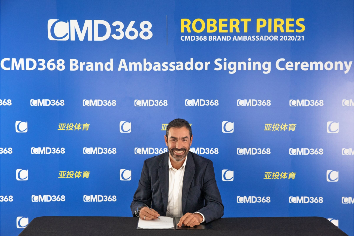 cmd368-appoints-robert-pires-as-brand-ambassador