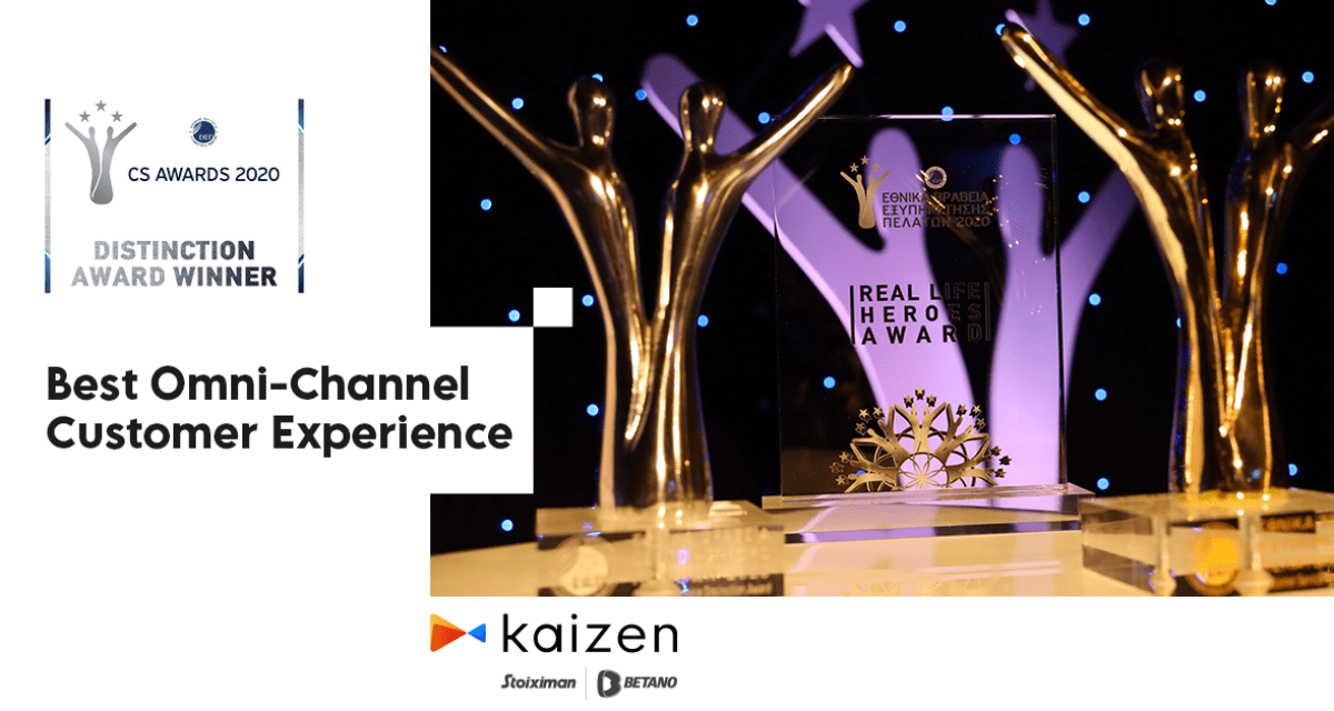 """kaizen-gaming-wins-award-in-""""best-omni-channel-customer-experience""""-category-at-national-customer-service-awards-2020"""