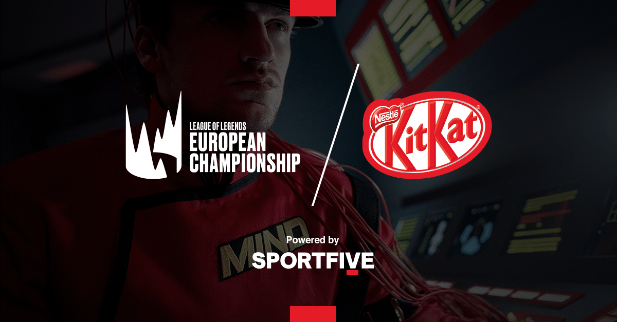 """kitkat-becomes-main-partner-of-the-lec-2021-and-launches-""""mission-control""""-with-sportfive"""