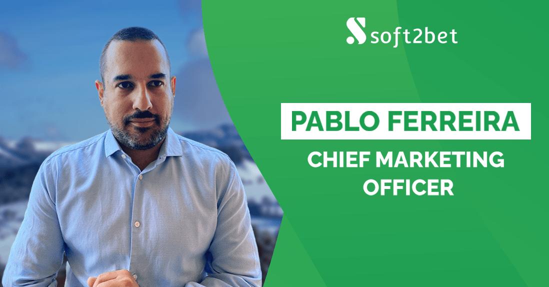 soft2bet-names-pablo-ferreira-as-chief-marketing-officer