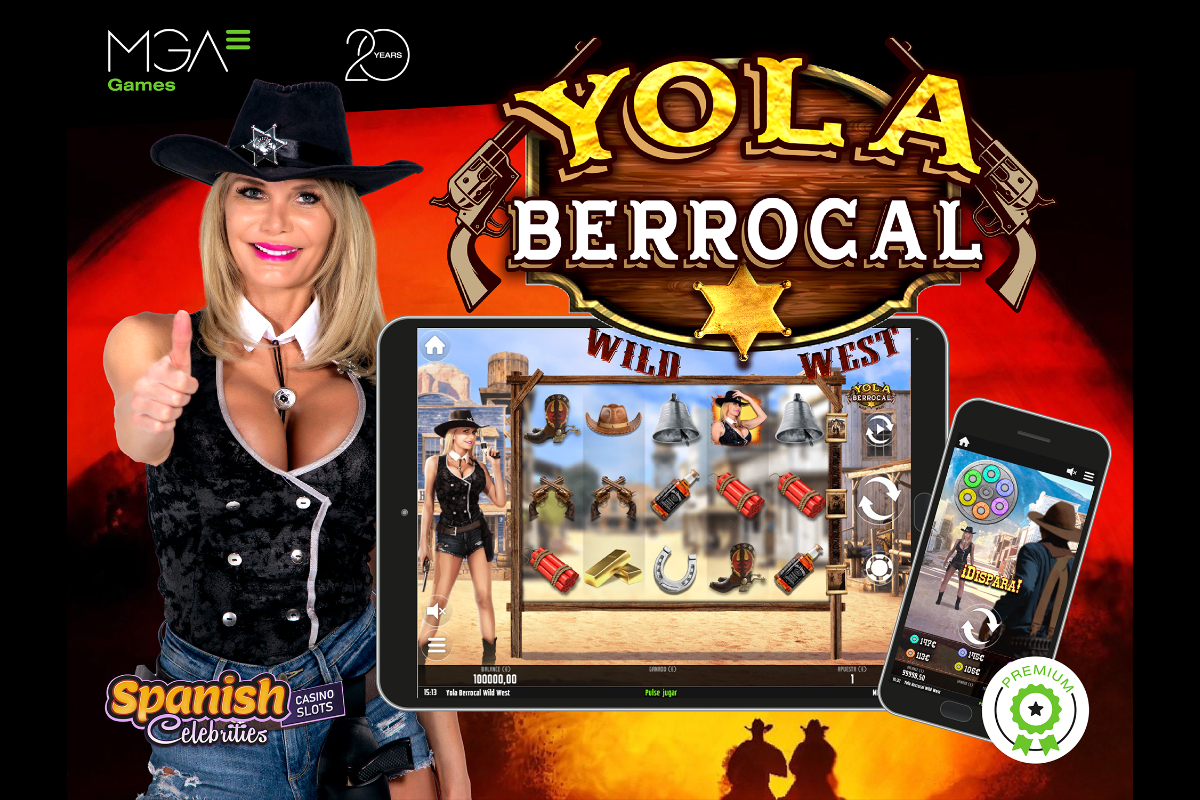 premiere-of-yola-berrocal-wild-west,-the-first-spanish-celebrities-casino-slots-production-by-mga-games