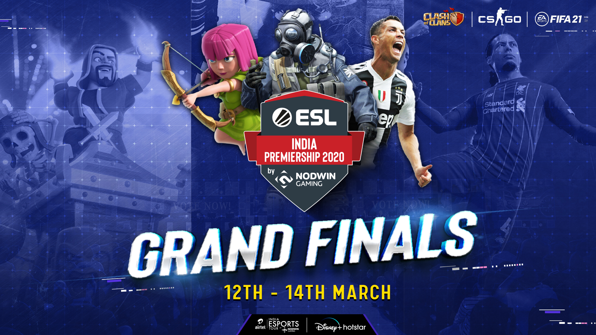 grand-finale-of-the-winter-season-of-nodwin-gaming's-esl-india-premiership-to-stream-on-disney+hotstar-from-march-12-14,-2021