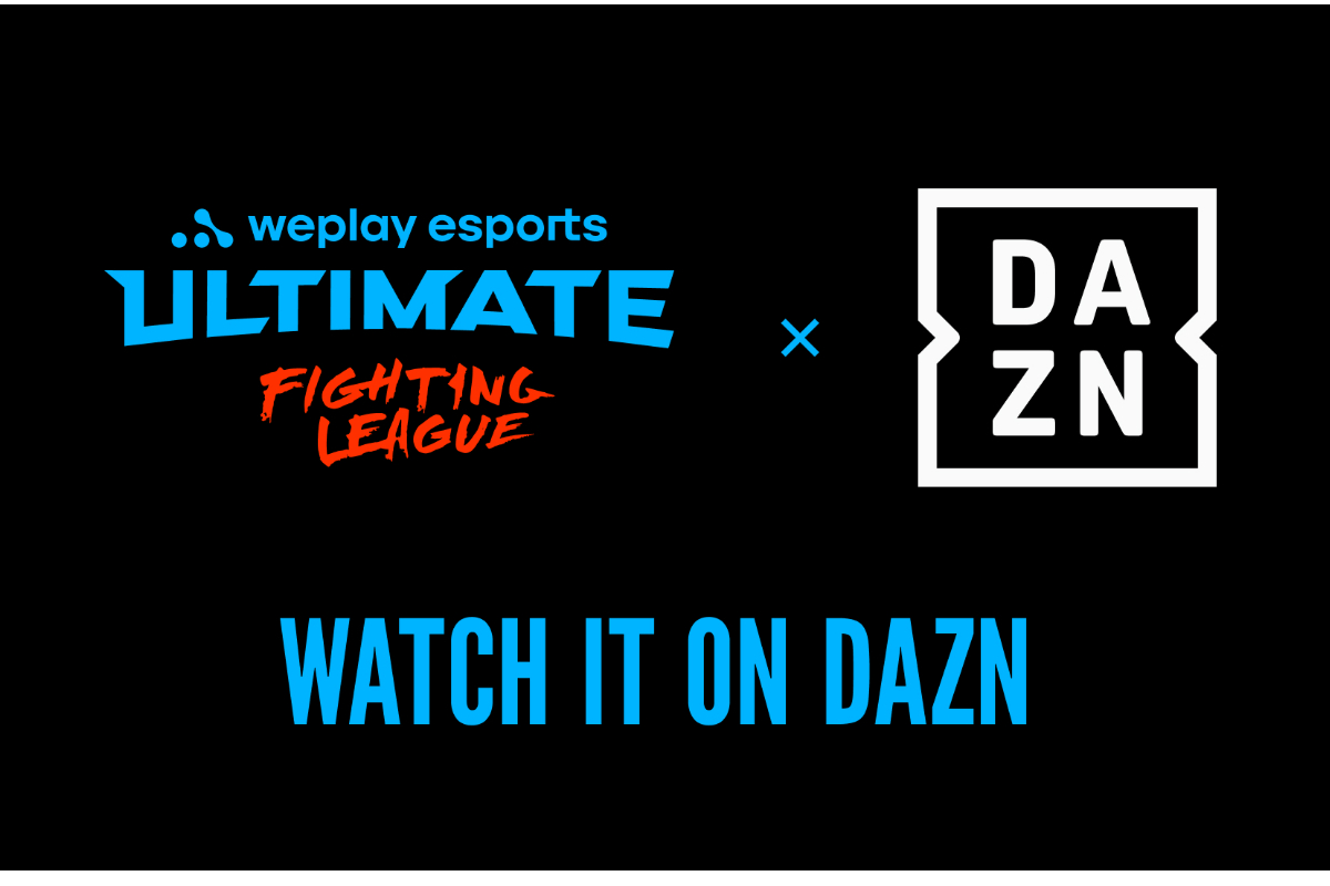 dazn-to-stream-weplay-ultimate-fighting-league-on-its-global-platform