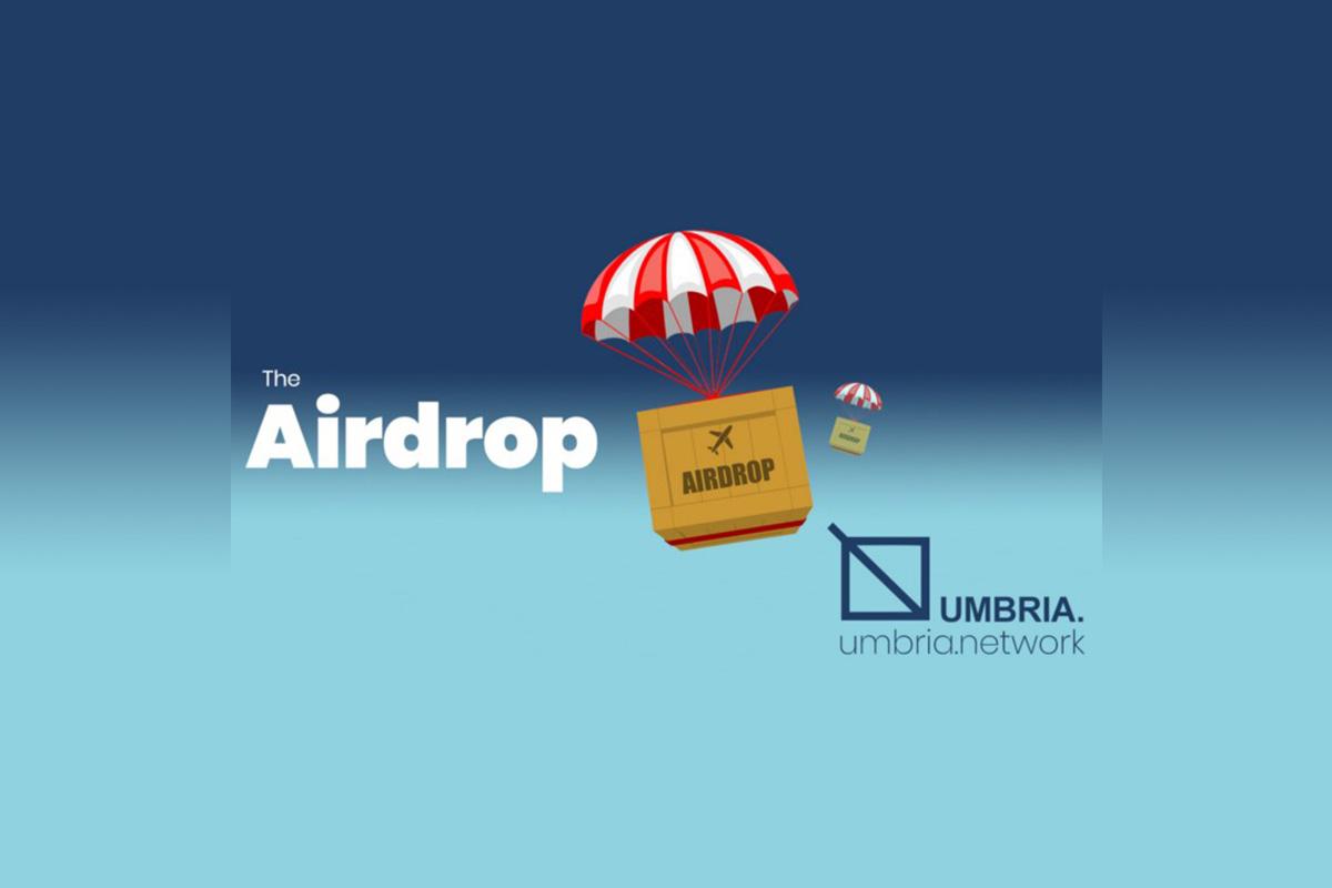 umbria-network-announces-second-airdrop-of-100,000-umbr-tokens