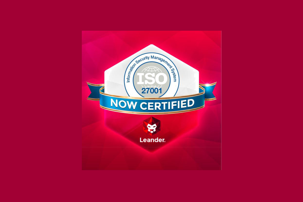 leander-awarded-coveted-iso-27001:2013-certification-for-isms