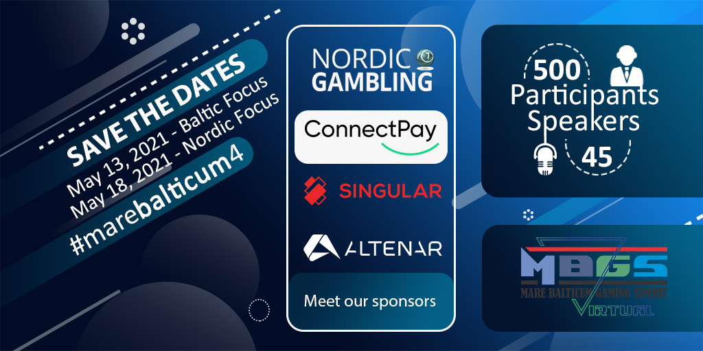 mare-balticum-gaming-summit-announces-its-main-sponsors,-nordic-gambling,-altenar,-singular-and-connectpay