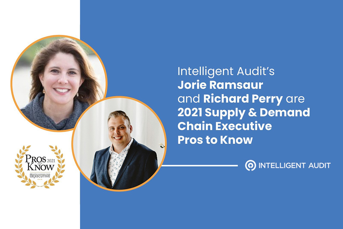 supply-&-demand-chain-executive-names-richard-perry-and-jorie-ramsaur-of-intelligent-audit-pros-to-know-for-2021