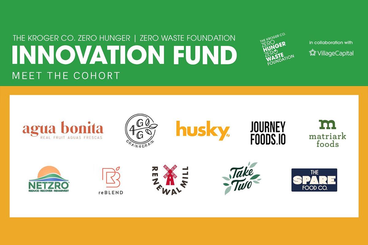 the-kroger-co.-zero-hunger-|-zero-waste-foundation-announces-second-innovation-fund-cohort