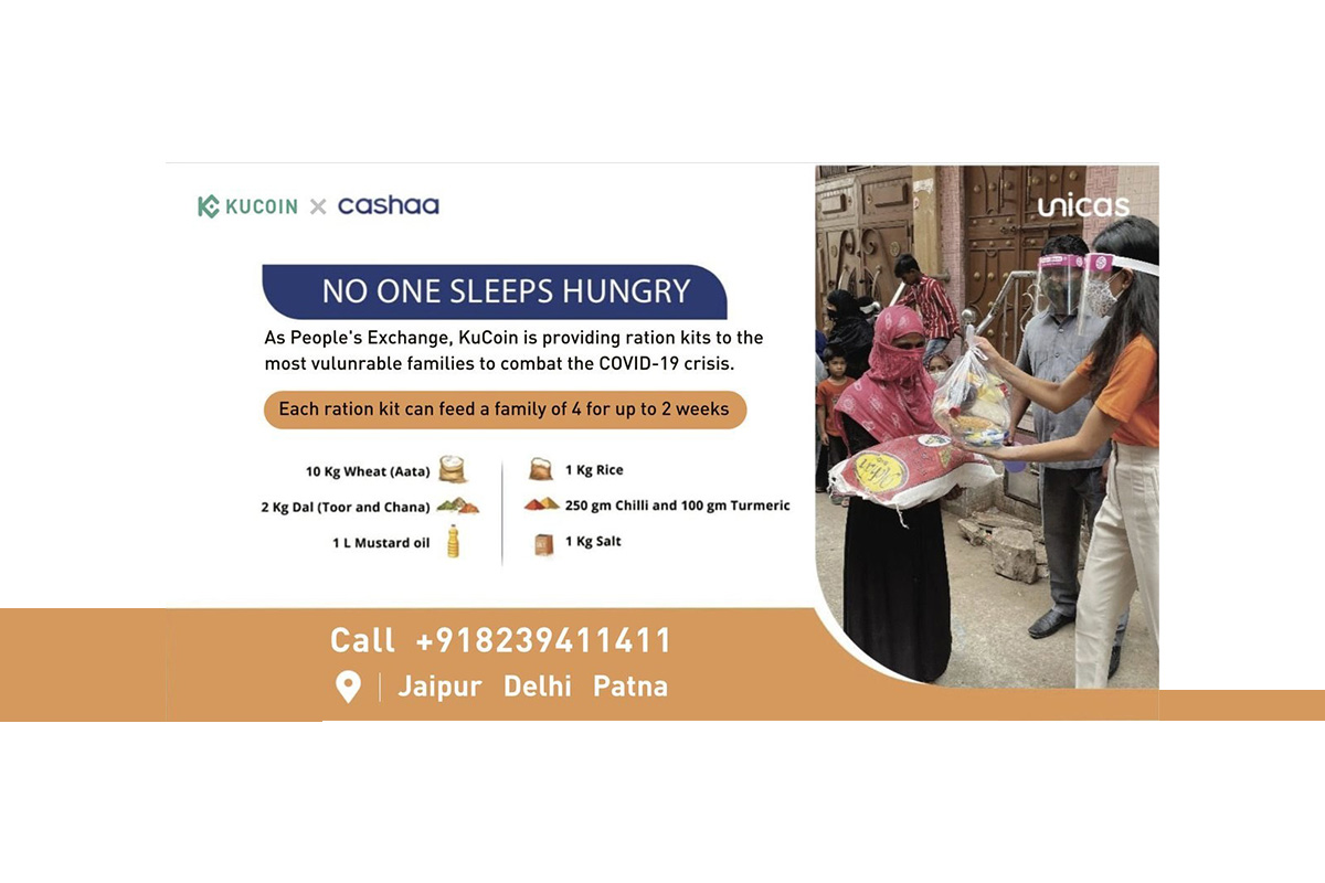 kucoin-partners-with-cashaa-to-combat-covid-19-crisis-in-india-through-distribution-of-daily-supplies