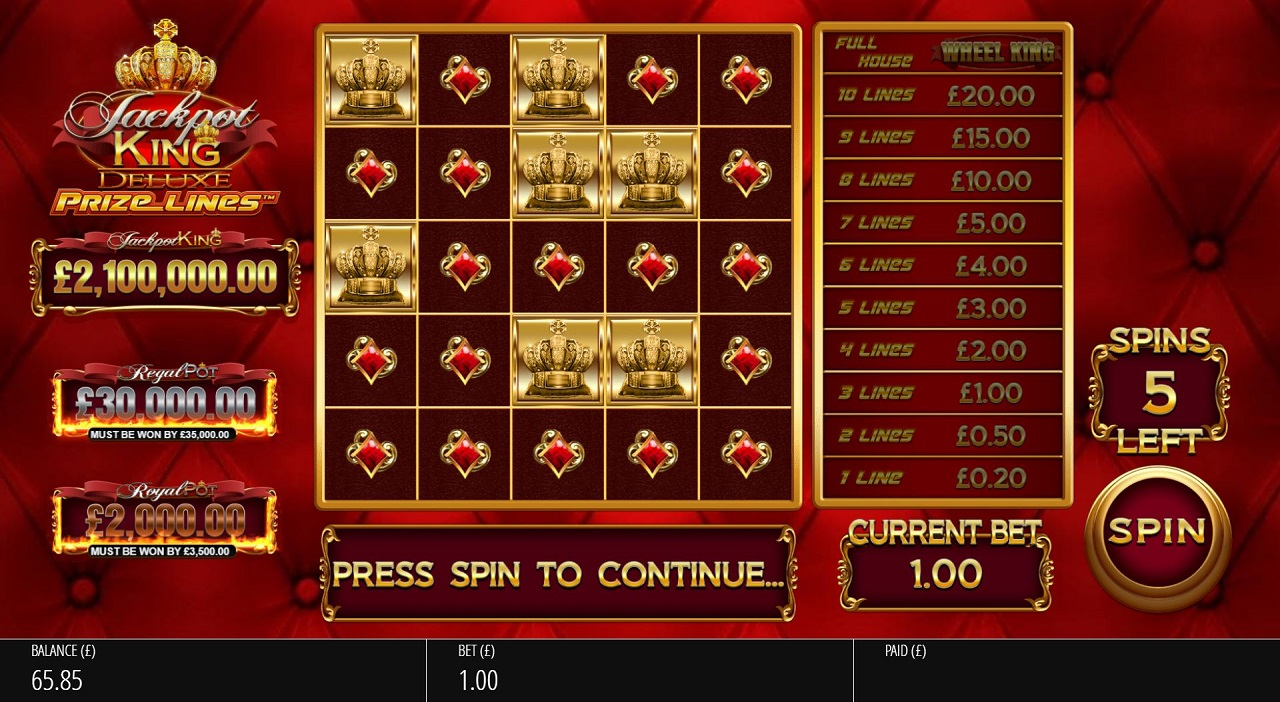 blueprint-gaming-revolutionises-jackpot-king-with-prize-lines-mechanic