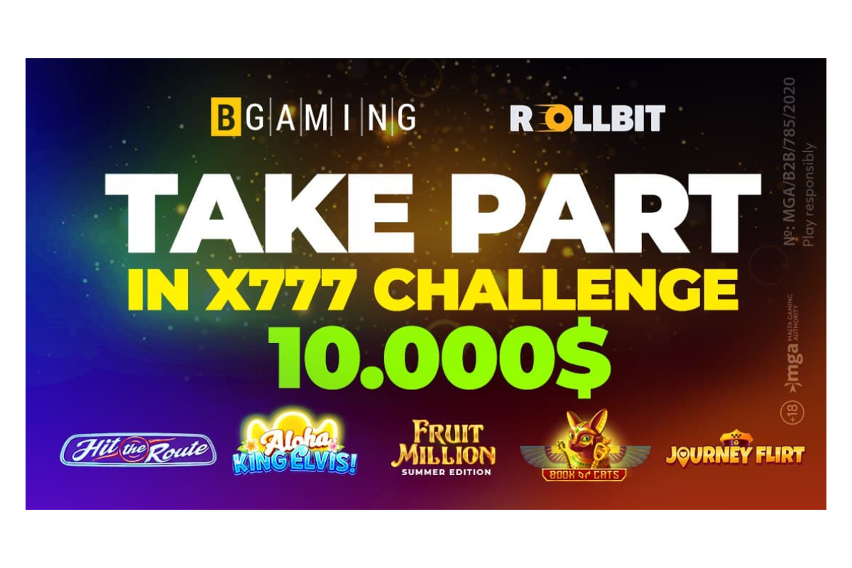 bgaming-&-rollbit-launch-summer-x777-special-challenge-for-crypto-players