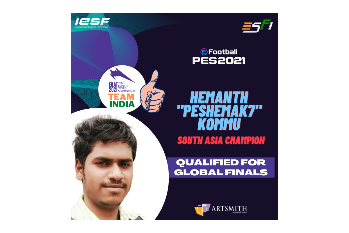 india's-hemanth-kommu-qualifies-for-the-finals-at-13th-esports-world-championship