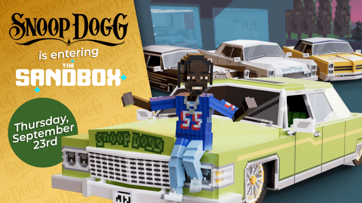 the-sandbox-partners-with-snoop-dogg-to-bring-the-legendary-icon-into-the-metaverse