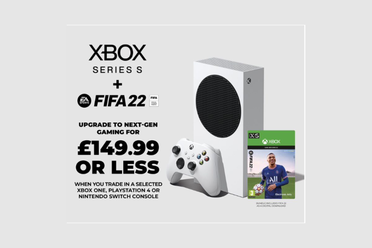 an-xbox-series-s-and-fifa-22-for-149.99-or-less!